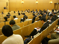 Ambience of the venue: Yayoi Auditorium