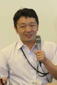 話題提供者の角田茂さんの写真