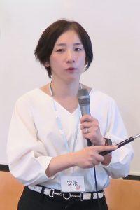 話題提供者の安永円理子さんの写真