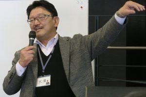 話題提供者大澤先生の写真話題提供者大澤先生の写真話題提供者大澤先生の写真